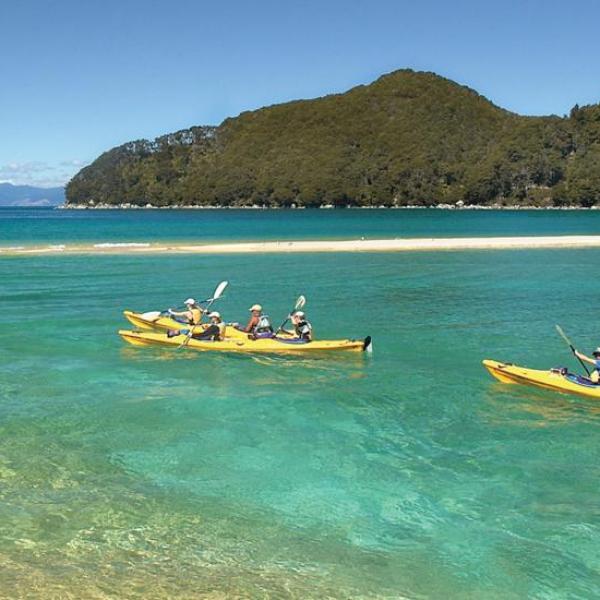 EXCURSIONES A ABEL TASMAN - Playas Kayaks y focas