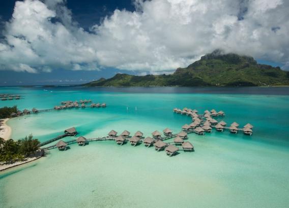 Hoteles en Polinesia - Le Meridien Bora Bora