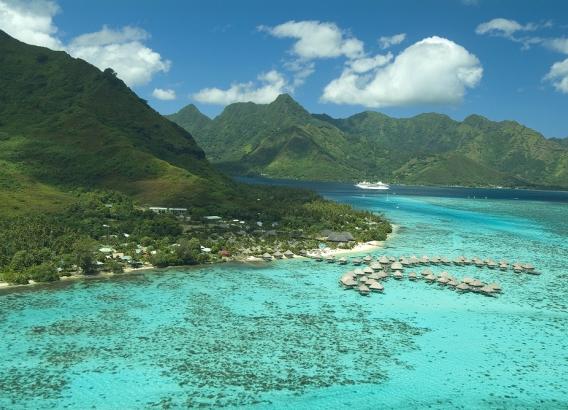 Hoteles en Polinesia - Hilton Moorea Lagoon Resort & Spa