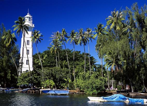 Hoteles en Polinesia - Vanira Lodge