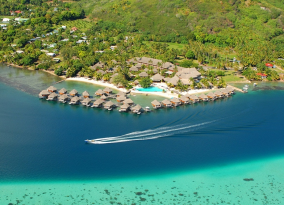 Hoteles en Moorea - Manava Beach Resort & Spa Moorea