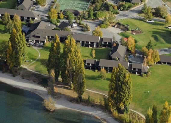 Hoteles en Nueva Zelanda - Hotel Edge Water Resort Wanaka