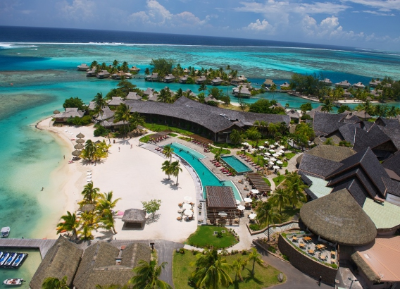 Hoteles en Polinesia - Intercontinental Resort and Spa Moorea