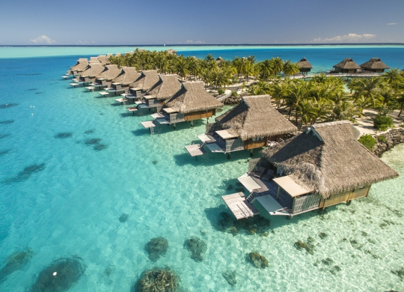 Hoteles en Polinesia - Conrad Bora Bora Nui