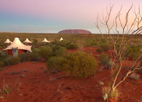 Hoteles en Australia - Longitude 131