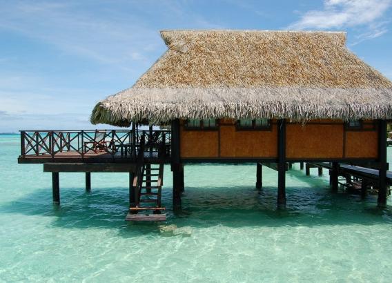 Hoteles en Polinesia - Vahine island resort