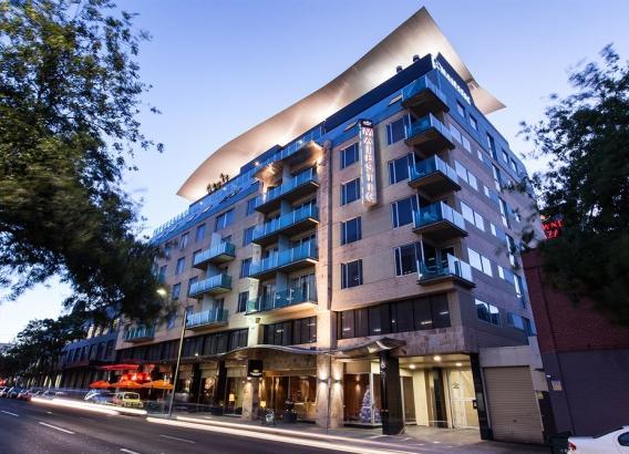 Hoteles en Adelaida - Majestic Roof Garden