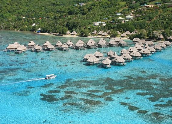 Hoteles en Polinesia - Sofitel Moorea Ia Ora Beach Resort