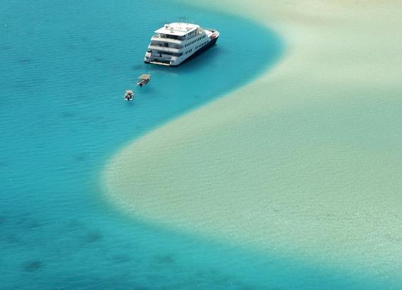 Hoteles en Polinesia - Crucero Haumana