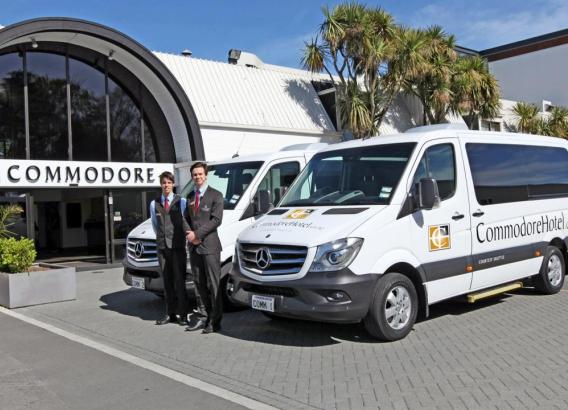 Hoteles en Nueva Zelanda - Copthorne Hotel Commodore Christchurch