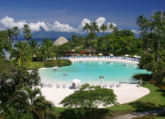 Hoteles en Polinesia - Le Meridien Tahiti