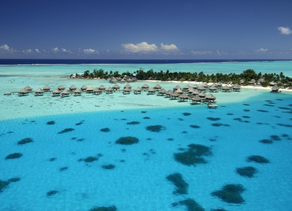 Hoteles en Polinesia - Intercontinental Bora Bora Le Moana Resort