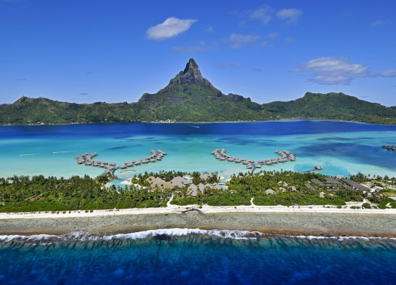 Hoteles en Polinesia - Intercontinental Bora Bora Resort & Thalasso Spa