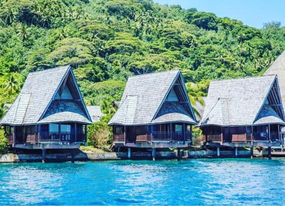 Hoteles en Polinesia - Oa Oa Lodge