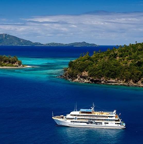 Viajar a Fiji - LUNA DE MIEL EN CRUCERO