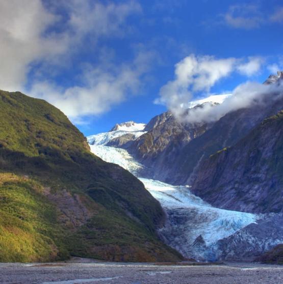 Viajar a Nueva Zelanda - AOTEAROA y FRANZ JOSEF